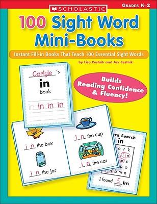 100 Sight Word Mini-Books By Chestnik, Lisa/ Cestnik, Jay/ Cestnik, Lisa
